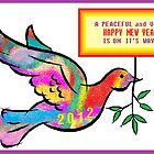 Peaceful Happy New Year 2012 by Jana Gilmore