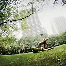 Minhee Cha, Yoga in New York by Wari Om  Yoga Photography