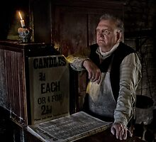 Candle Maker Waits by Dave Tucker