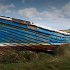 Lindisfarne boat by Dave Tucker