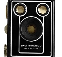 "Kodak Box Brownie ""D"" by axemangraphics"