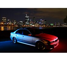 M5 BMW 540i -2 Photographic Print