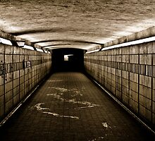 Hellish tunnel by digihill