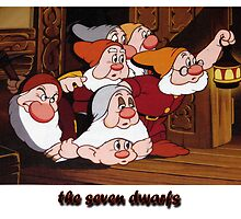 The seven dwarfs by ilmagatPSCS2