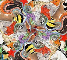 Complementary Tessellation by Ninjangulo