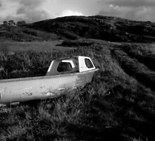 Old boat, Co. Cork, Ireland by e j carr