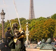 Paris in Summer 1 by tunna