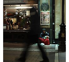 Roma girl in Grafton Street Photographic Print