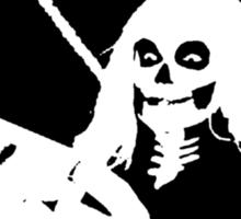 Stupid Deaths (large image) Sticker