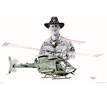 Joe Metivier - Kiowa Pilot Photographic Print