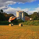 Silos at Hill Farm by JLBphoto