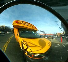 Driving the school bus, New York City  by Alberto  DeJesus