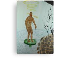 Pollution Avenger Canvas Print
