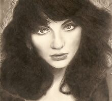 Kate Bush by Reanne