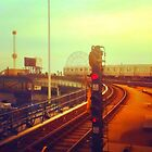 entering coney island station by ShellyKay