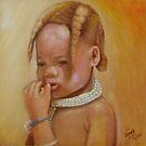 Nambia Himba Little Girl by Noel78