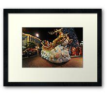 Christmas Parade at Disneyland, Hong Kong Framed Print