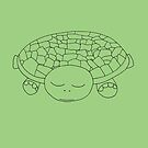 Green turtle by ArtLuver