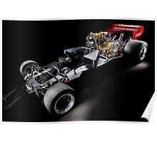 1974 Lola T332  F5000 Race Car Chassis Poster