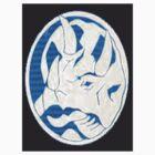 Blue Ranger Emblem by Pearson111