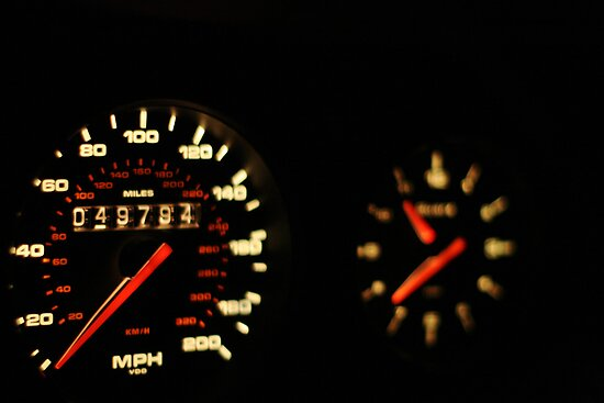 Morgan Freeman's 993 TT Porsche Ticker  by Daniel  Oyvetsky