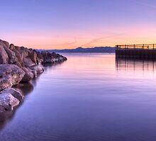 Tahoe Vista Sunset by Dory Breaux
