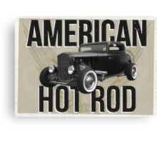 American Hot Rod - brown version Canvas Print