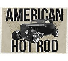 American Hot Rod - brown version Photographic Print