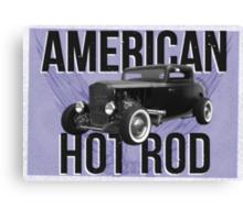 American Hot Rod - blue version Canvas Print
