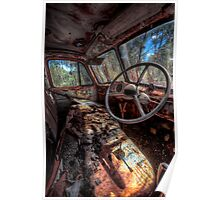 Deceased Timber Truck Poster