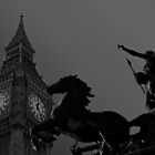 Big ben and Boadicea Statue by DavidHornchurch