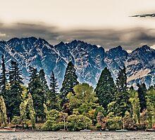 Lake Wakatipu, Queenstown III by elspiko