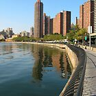 East River Esplanade by Ken Griffith