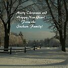 Merry Christmas and Happy New Year! by Linda Jackson