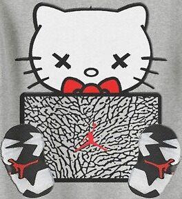 Hello Kitty x Jordans by LifeAsMe