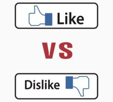 Like vs dislike by Nhan Ngo