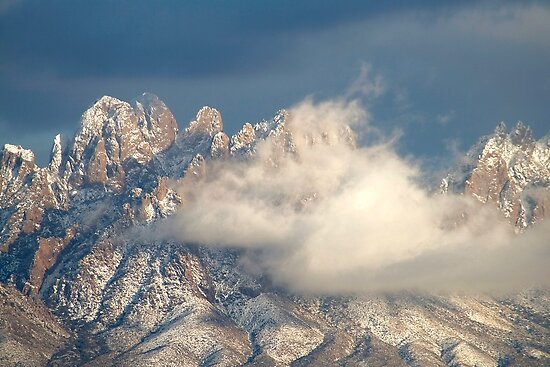 Clouds Lifting after a Snowstorm by David DeWitt