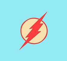 The Flash iPhone Case by Josh Marten