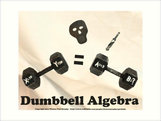 Dumbbell Algebra  by Thomas Murphy