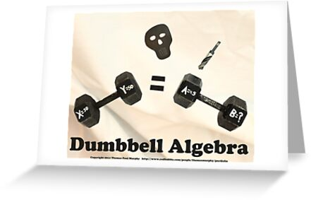 Dumbbell Algebra  by Thomas Murphy