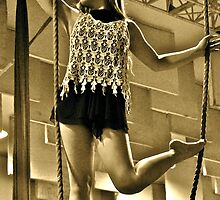 Aerial Hoop and Trapeze Workshop by Dancing in the Air ®