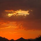 Arizona Sunset ~9 by Kimberly P-Chadwick