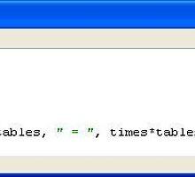 251211a Python 12 x Tables program/Version II by paulramnora