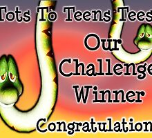 Tots To Teens tees challenge banner by LoneAngel