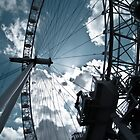 London Eye by Alex Chartonas