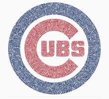 Chicago Cubs Typography Logo by TheHammer417
