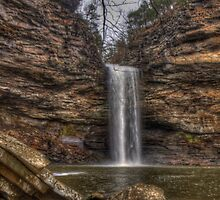 Cedar Falls - Petite Jean State Park - Arkansas - USA by Terence Russell