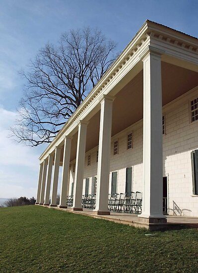 George Washington's Porch by Bine