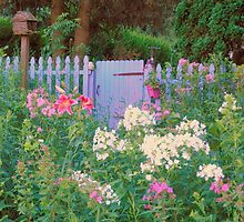 Cottage Garden Gate by TrendleEllwood