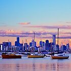 City of Melbourne from Williamstown by Kris Montgomery